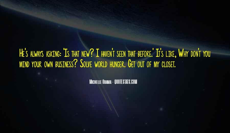 Quotes About Own Business #63932