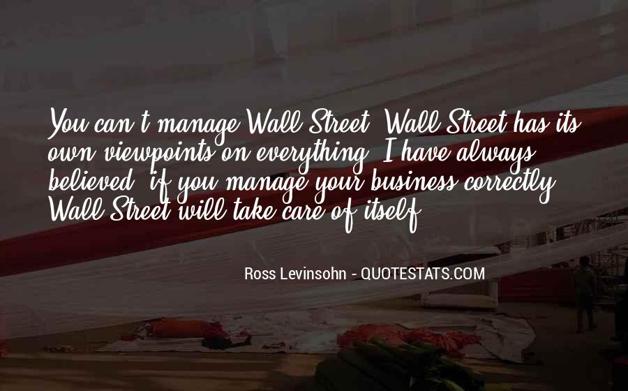 Quotes About Own Business #98685