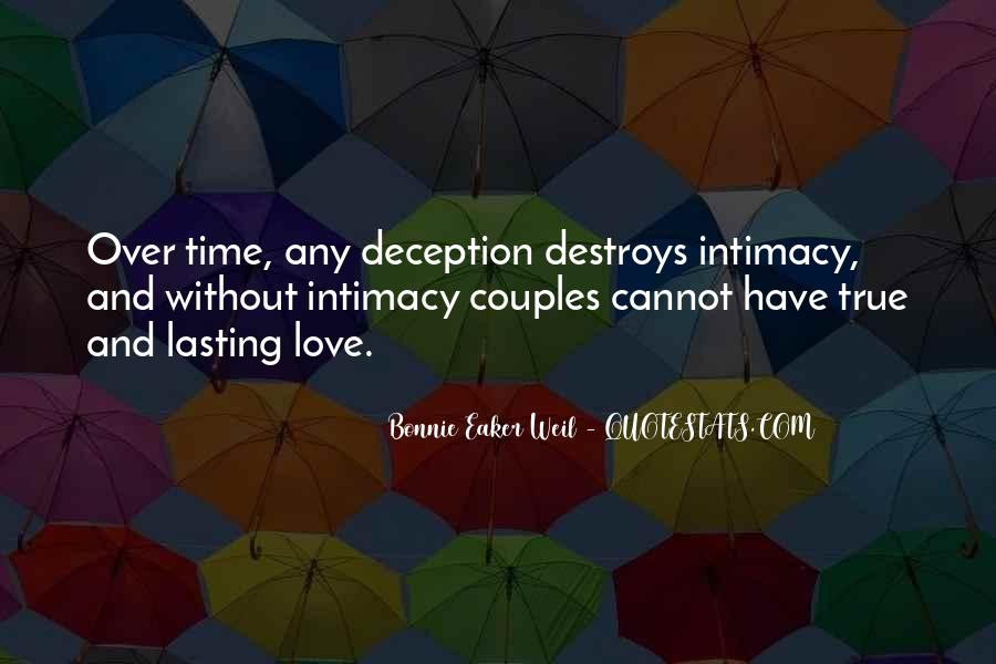 Quotes About True Lasting Love #985647