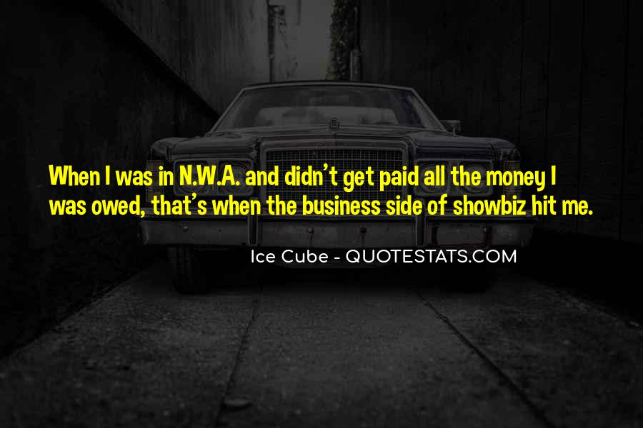 Quotes About Owed #143942