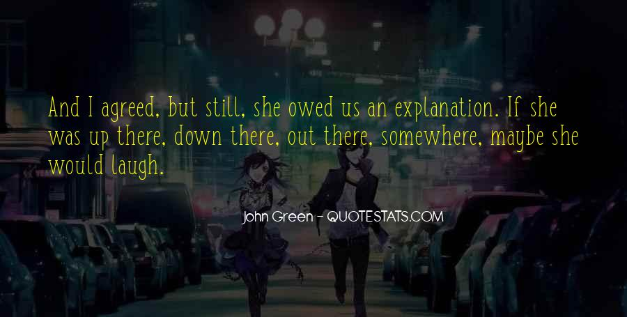 Quotes About Owed #204736