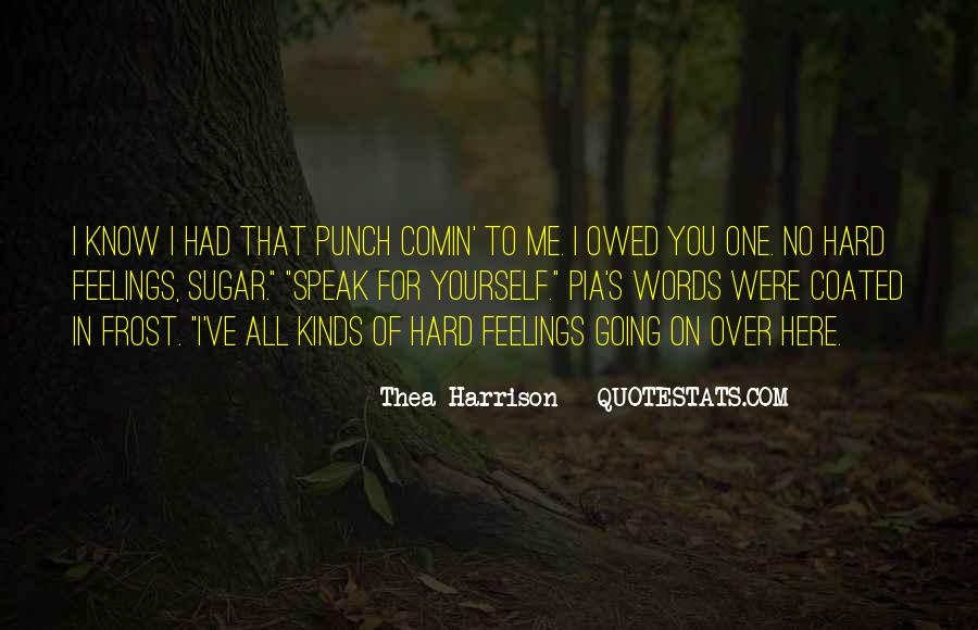 Quotes About Owed #618584