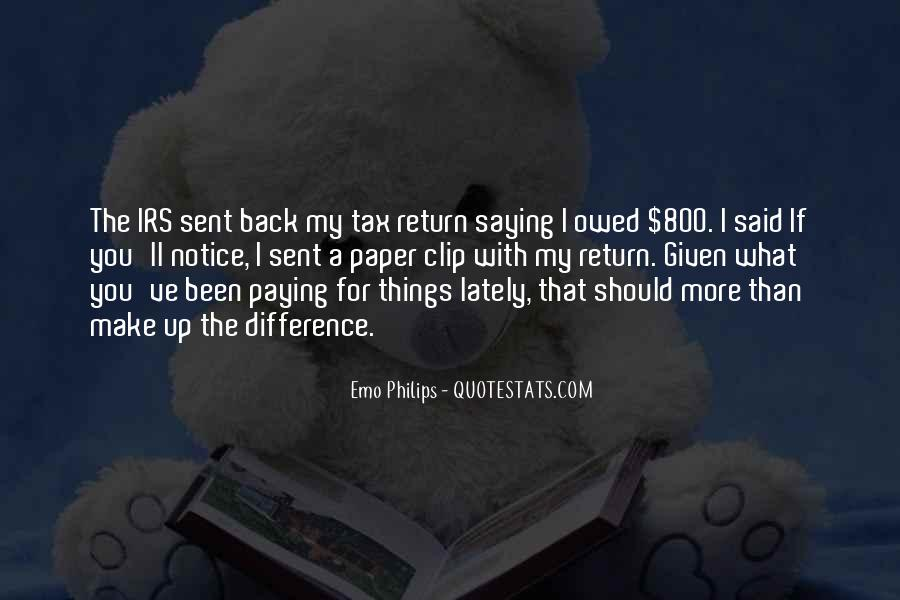 Quotes About Owed #657439