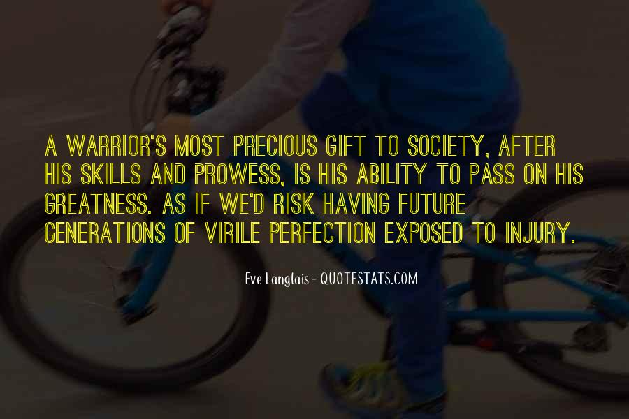 Quotes About Future Generations #103791