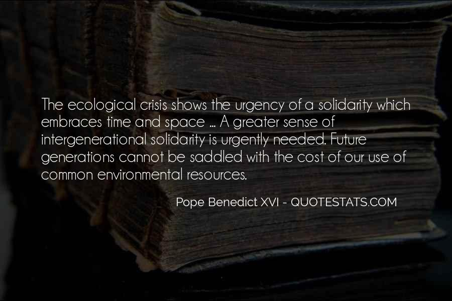 Quotes About Future Generations #103898
