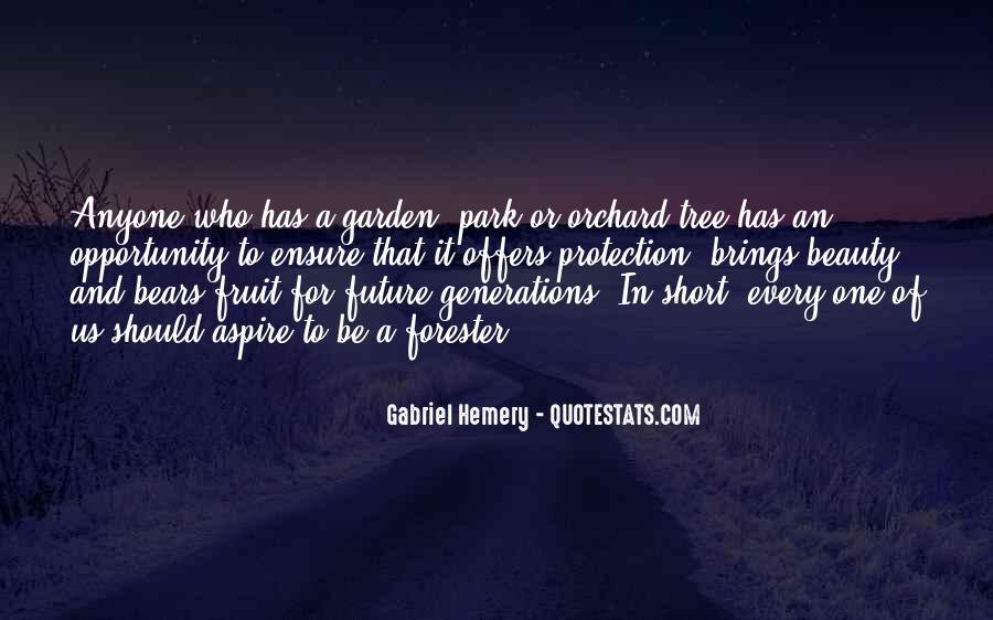 Quotes About Future Generations #108614