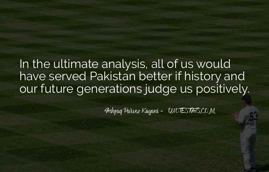 Quotes About Future Generations #141028