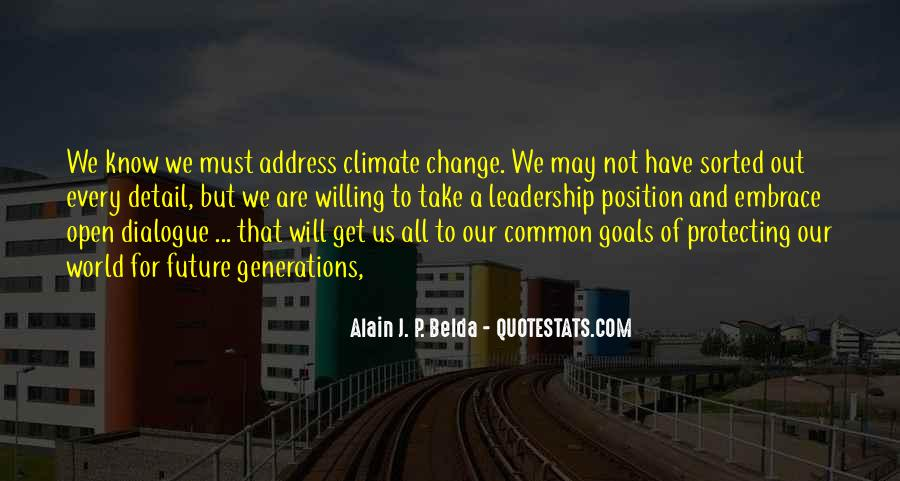 Quotes About Future Generations #185377