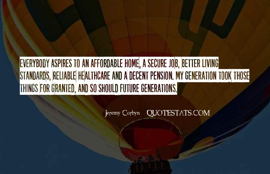 Quotes About Future Generations #191212