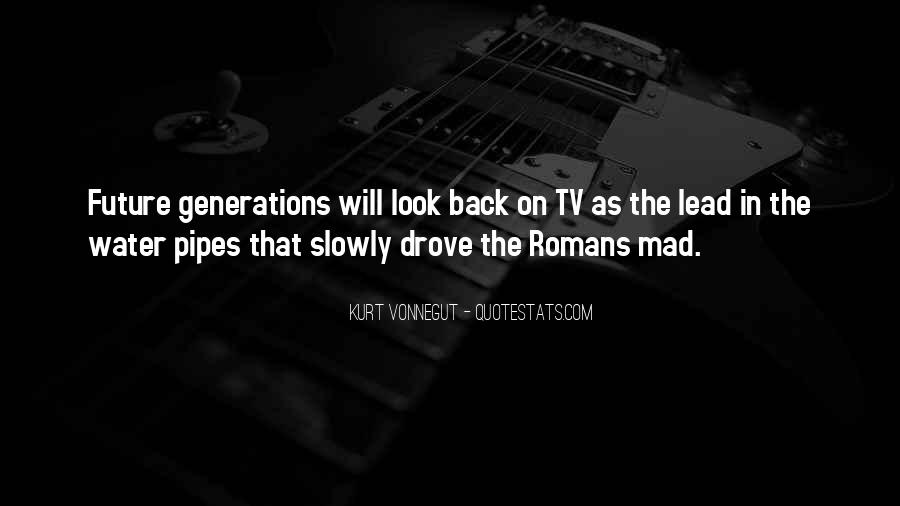Quotes About Future Generations #221080