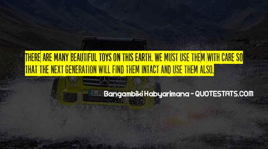 Quotes About Future Generations #270149
