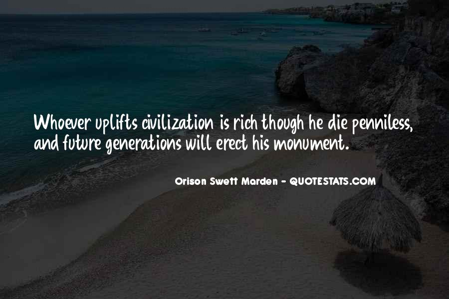 Quotes About Future Generations #301880