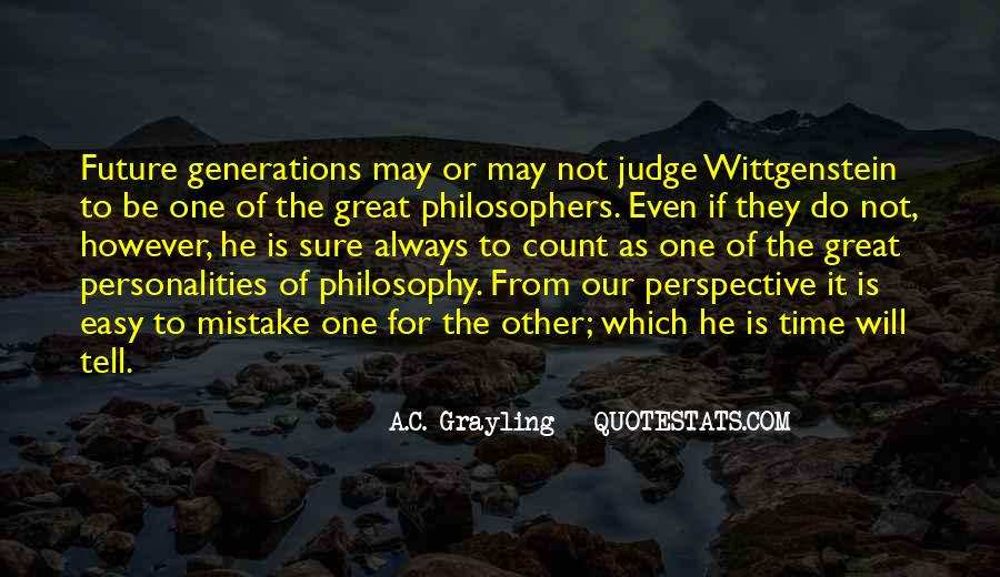 Quotes About Future Generations #30309