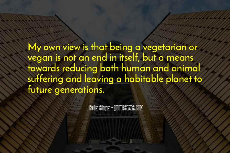 Quotes About Future Generations #76355