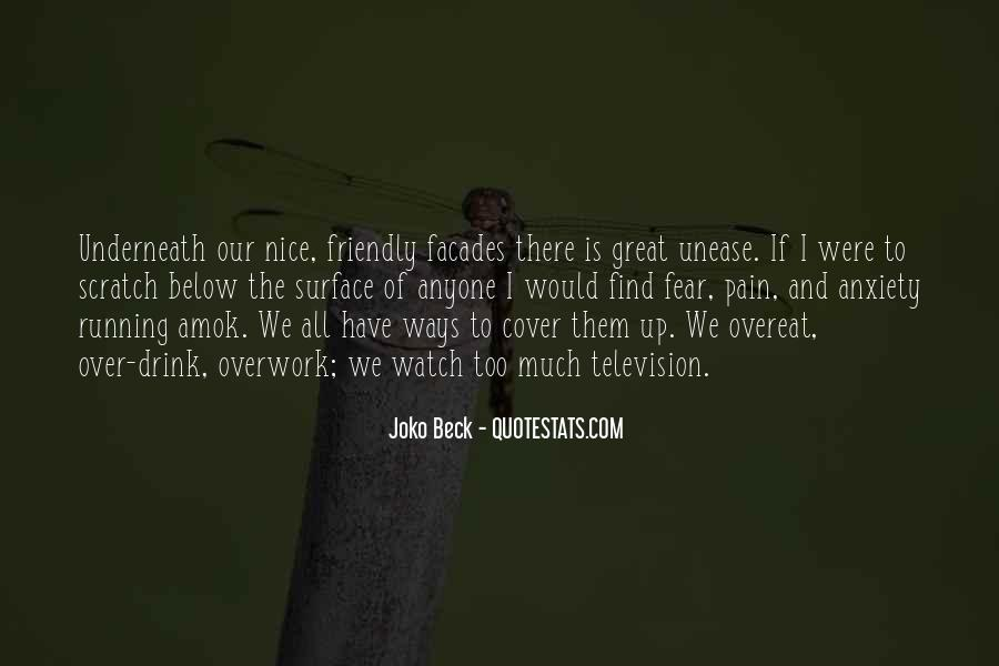 Quotes About Overwork #641675