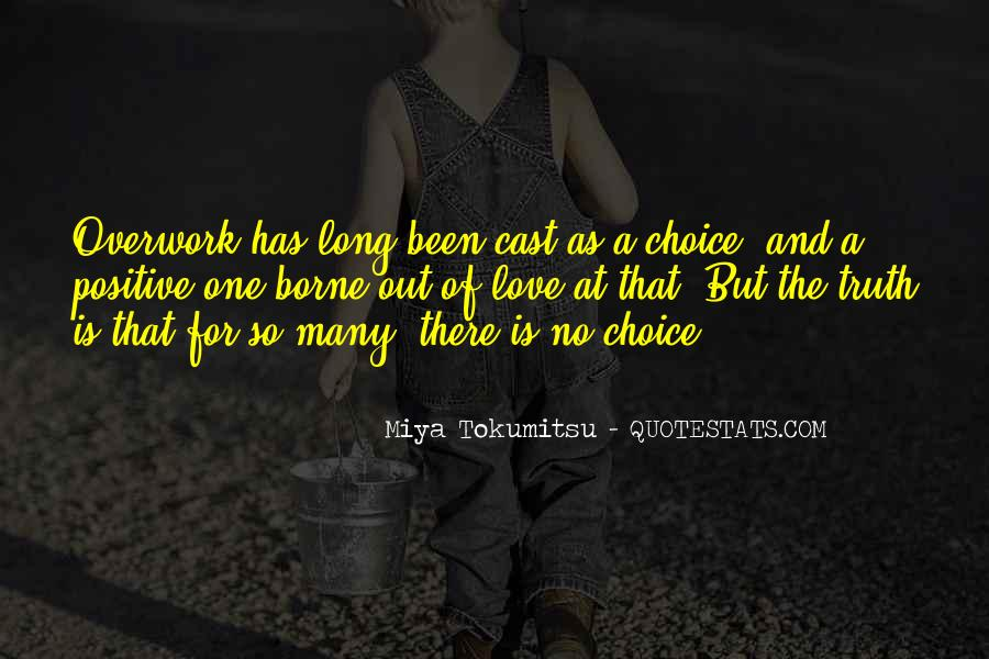 Quotes About Overwork #739774
