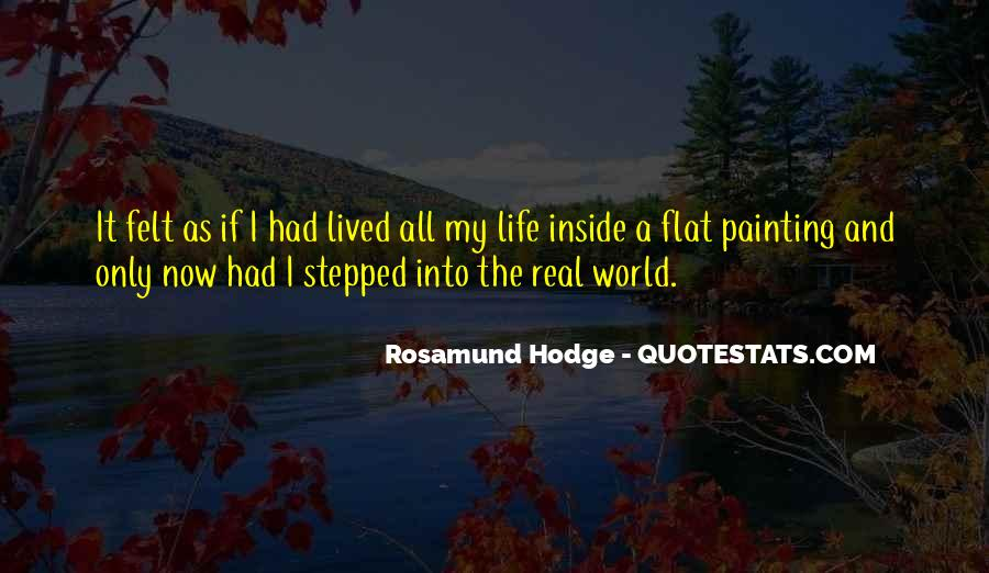Quotes About Flat World #11467