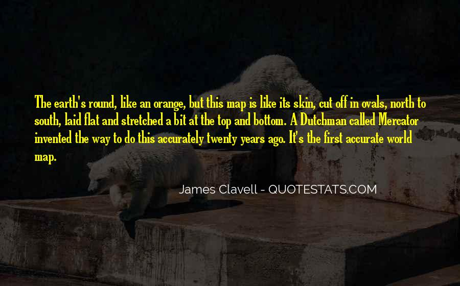 Quotes About Flat World #1152367