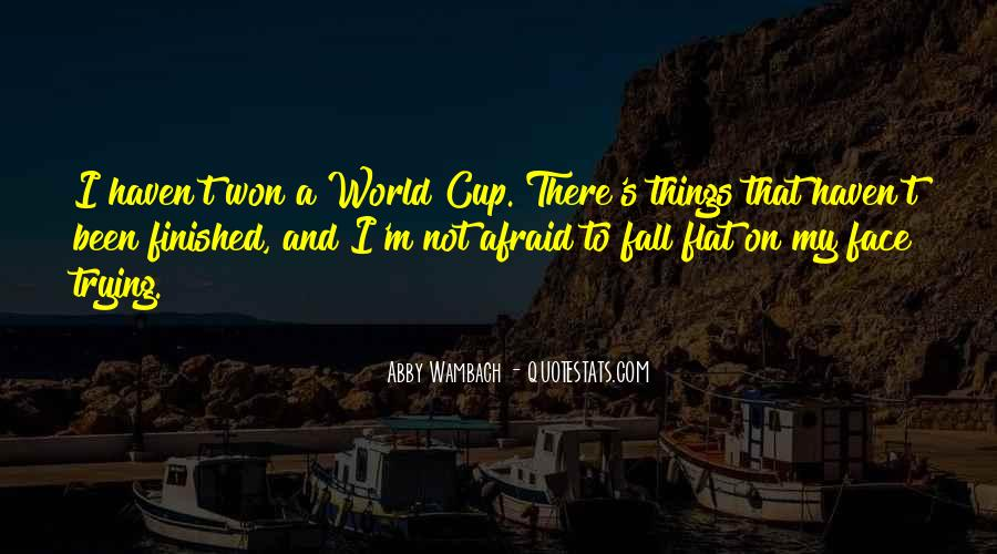 Quotes About Flat World #1356647