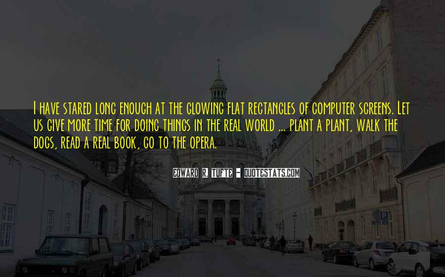 Quotes About Flat World #1365903