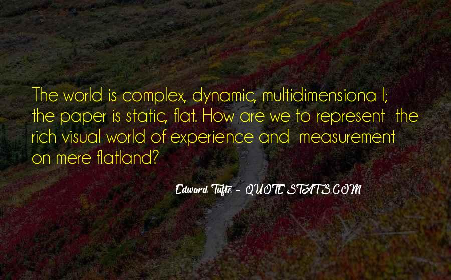 Quotes About Flat World #182411