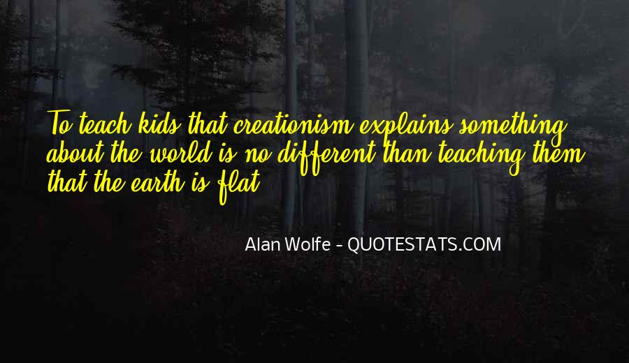 Quotes About Flat World #267657