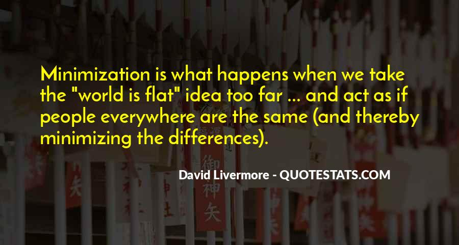 Quotes About Flat World #284111