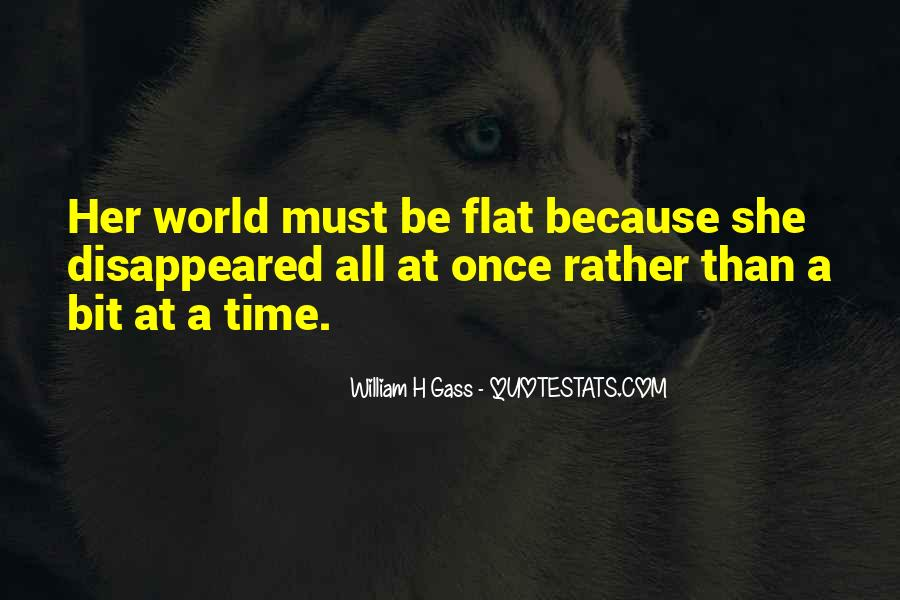 Quotes About Flat World #379001