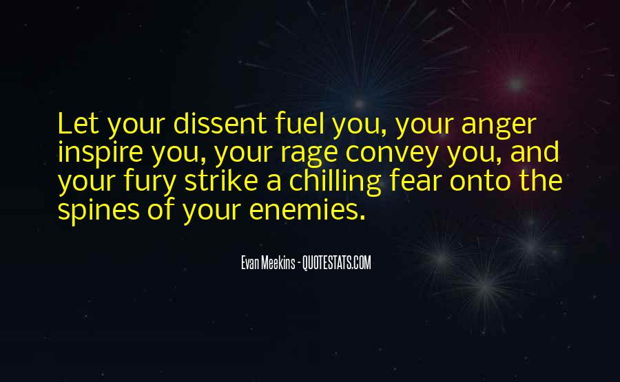 Quotes About Anger And Rage #1324198