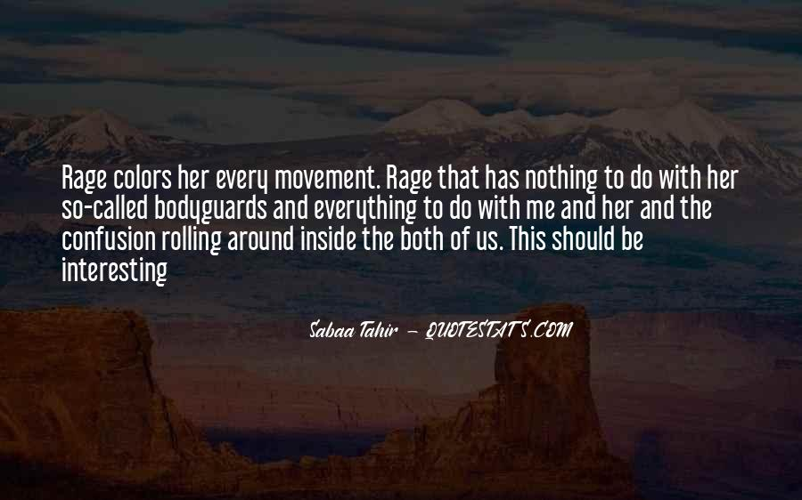 Quotes About Anger And Rage #81103