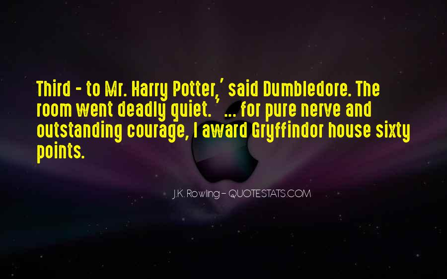 Quotes About Courage Harry Potter #489336