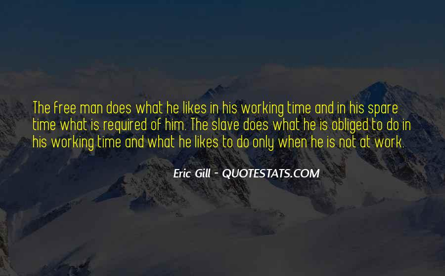 Quotes About Working Man #160090