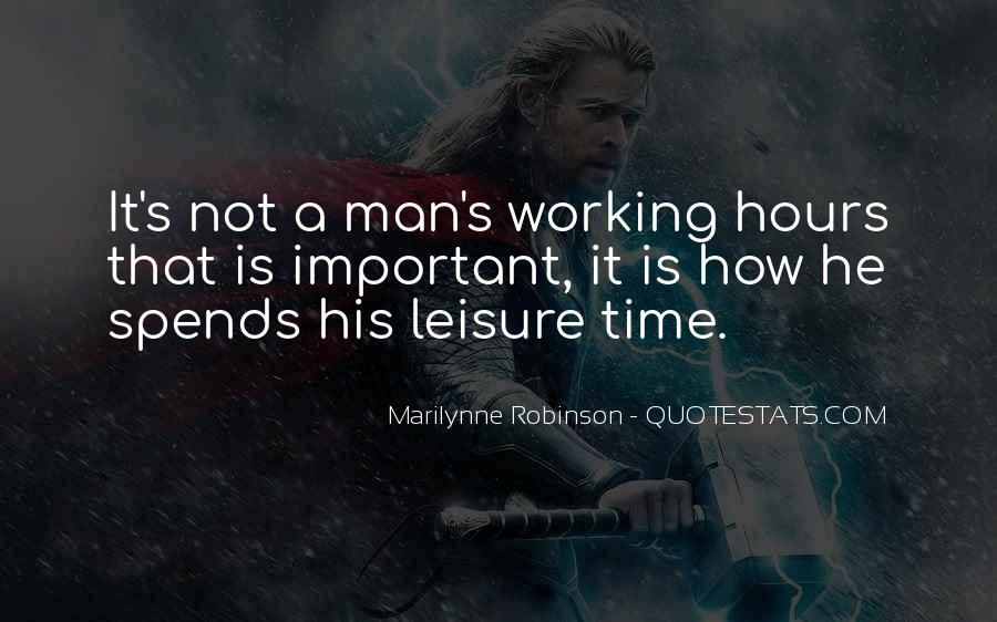 Quotes About Working Man #187127