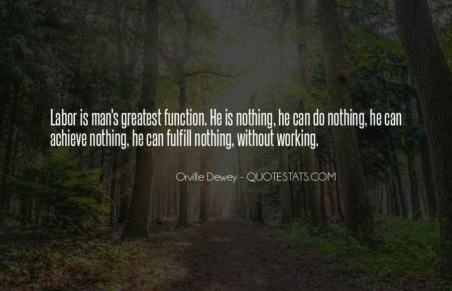 Quotes About Working Man #352877