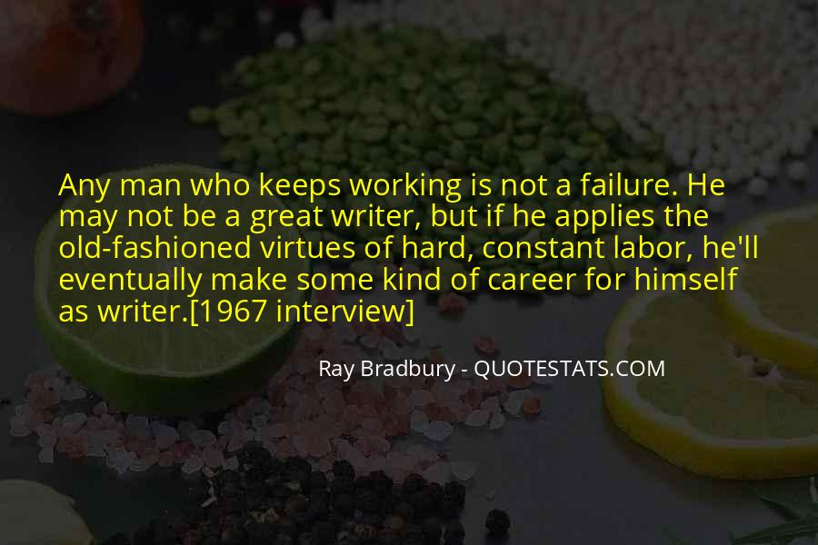 Quotes About Working Man #383870