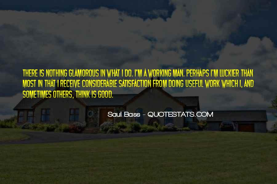 Quotes About Working Man #47632
