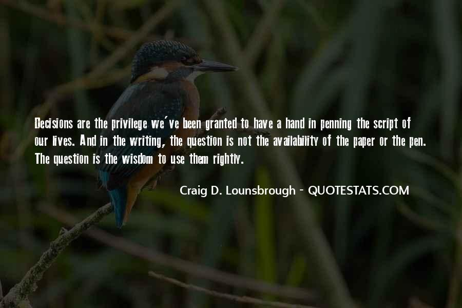 Quotes About Script Writing #1062385