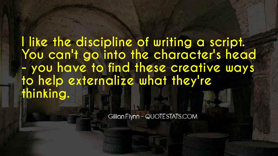 Quotes About Script Writing #1070294