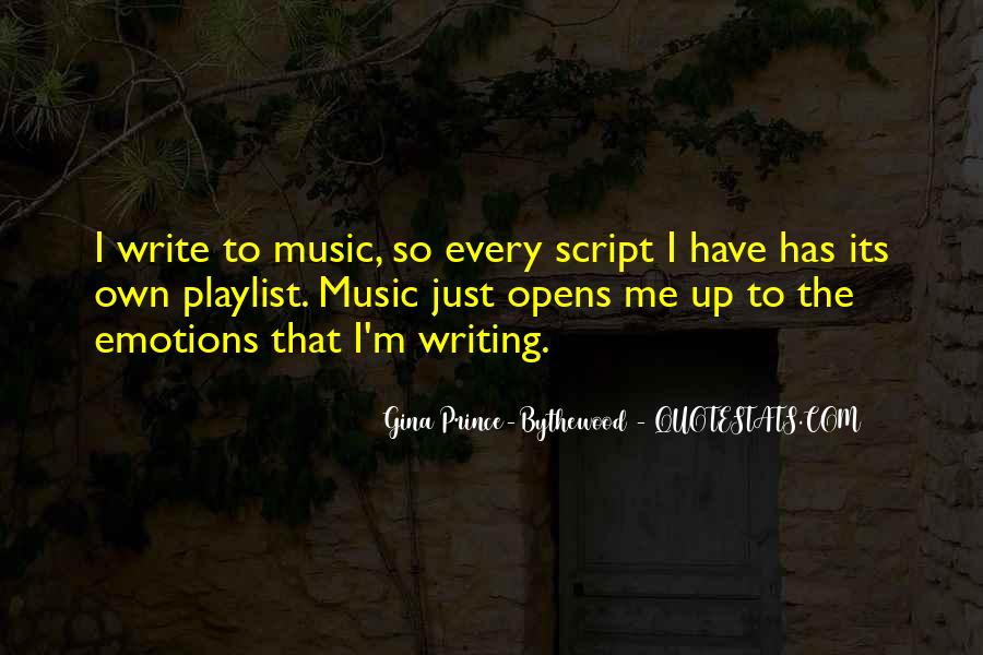 Quotes About Script Writing #1247056