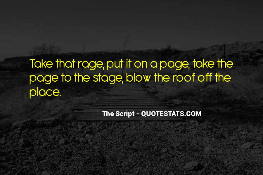 Quotes About Script Writing #1258770