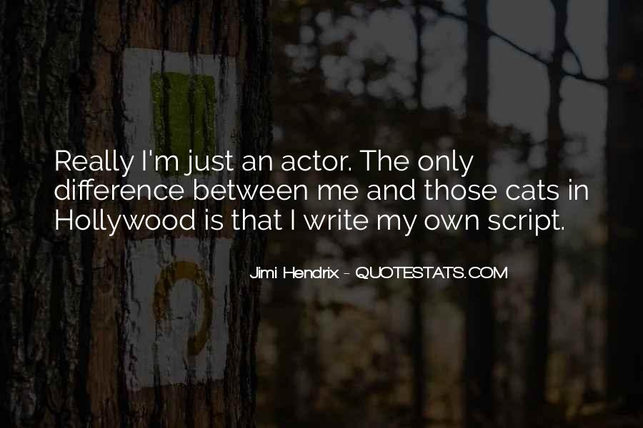 Quotes About Script Writing #1319575