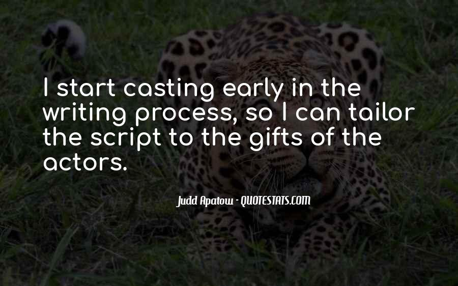 Quotes About Script Writing #1392879