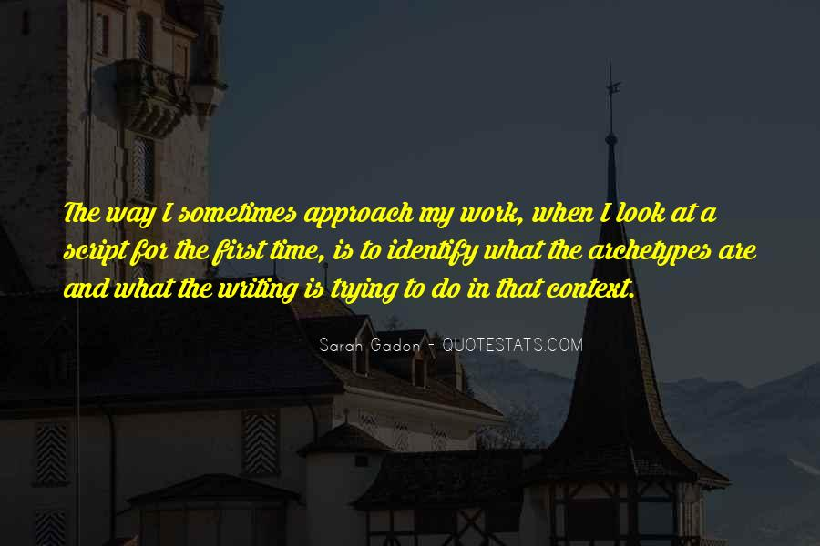 Quotes About Script Writing #149198