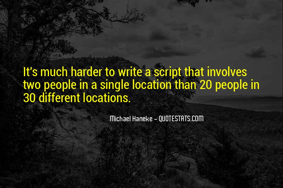 Quotes About Script Writing #202206