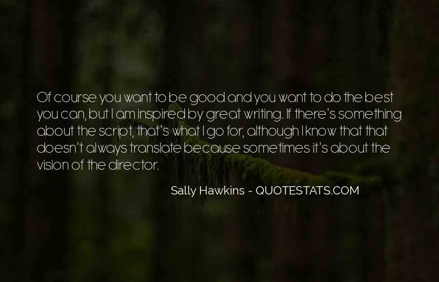 Quotes About Script Writing #219913