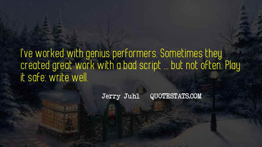 Quotes About Script Writing #251816