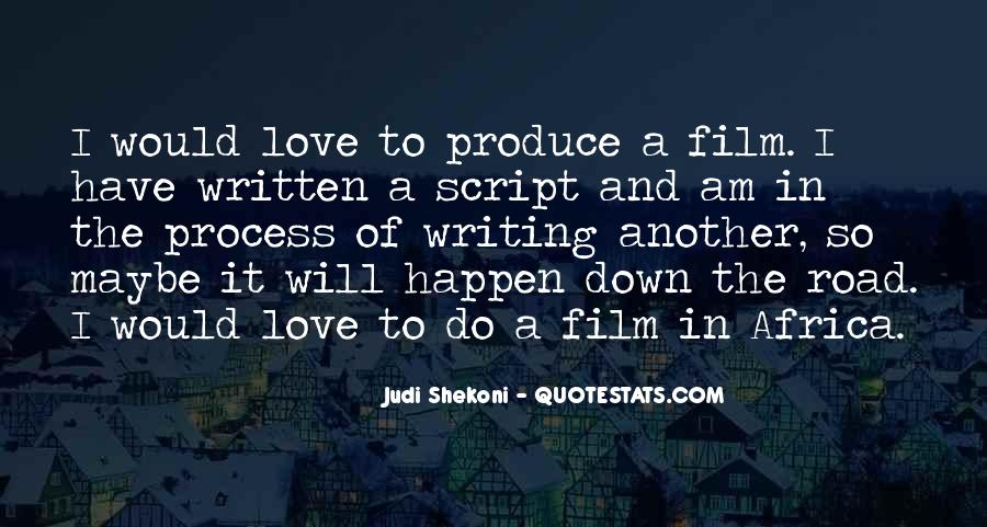 Quotes About Script Writing #297917