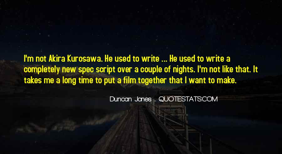 Quotes About Script Writing #305206