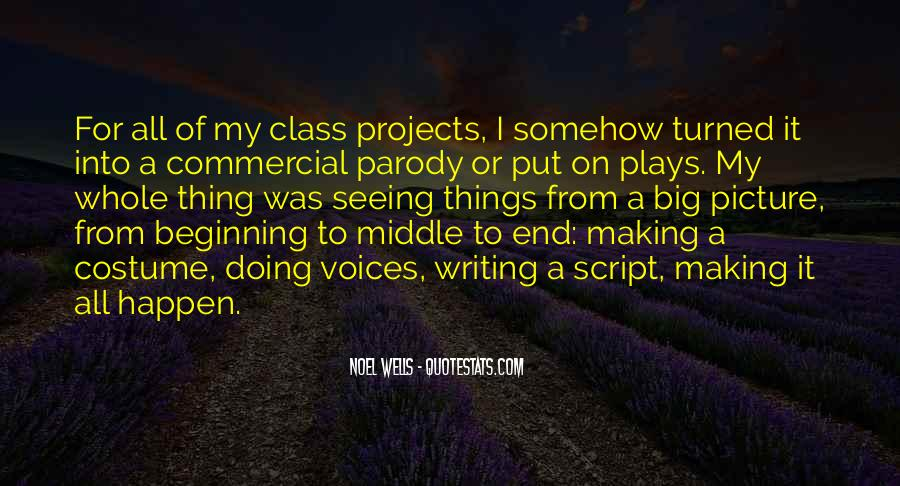 Quotes About Script Writing #484106