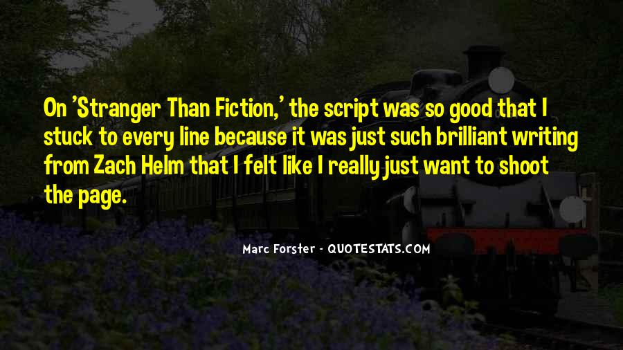 Quotes About Script Writing #558716
